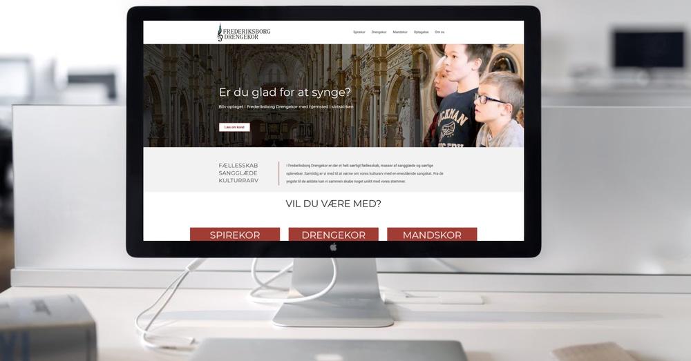Markedsføring af Frederiksborg Drengekor